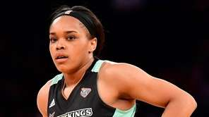 Brittany Boyd #15 of the New York Liberty