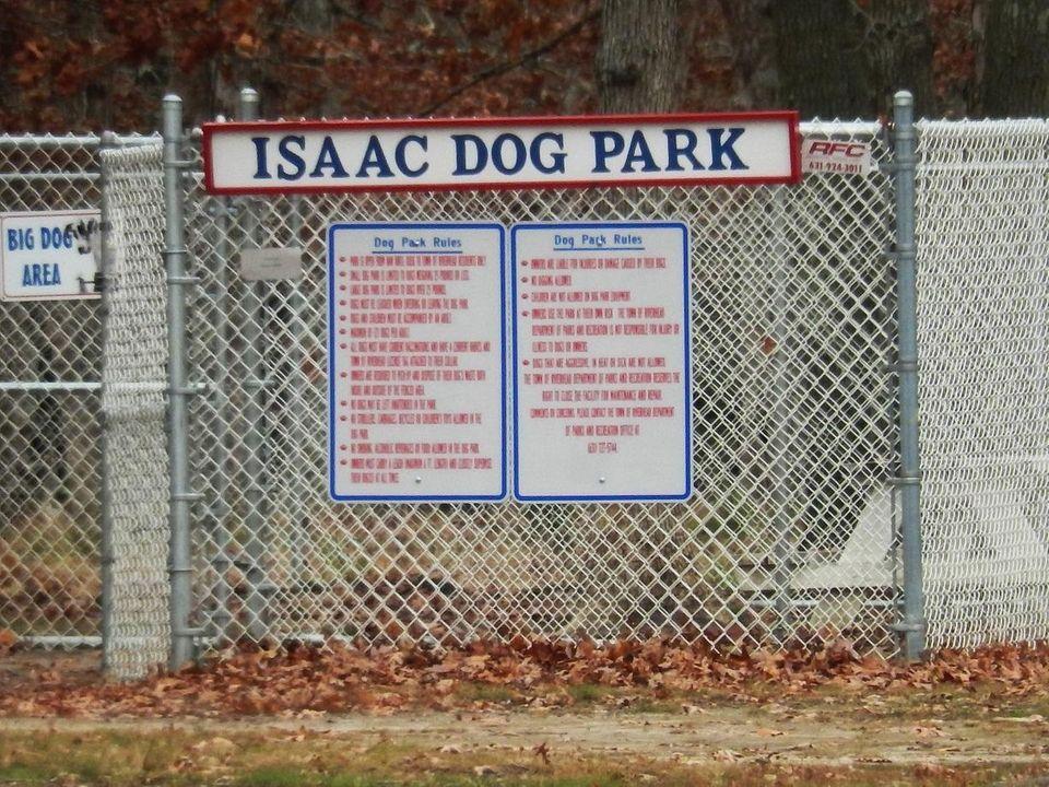 CALVERTON, Isaac Park, on the Grumman site, within