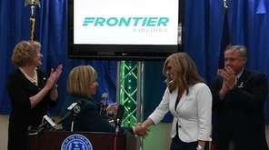 Frontier Airlines will become the fourth airline serving