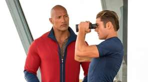 Dwayne Johnson, who provides the voice of experience,