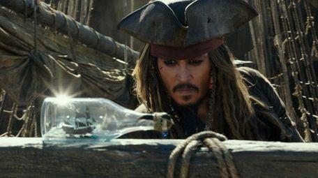 Johnny Depp is back as Captain Jack Sparrow