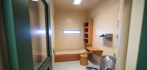 A cell at the Suffolk County jail in