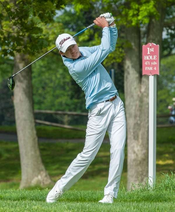 Manhasset's Adam Xiao takes first place in the