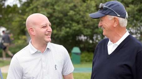 From left, L.I. National Golf Club general managerFrank