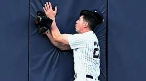 New York Yankees centerfielder Jacoby Ellsbury makes the
