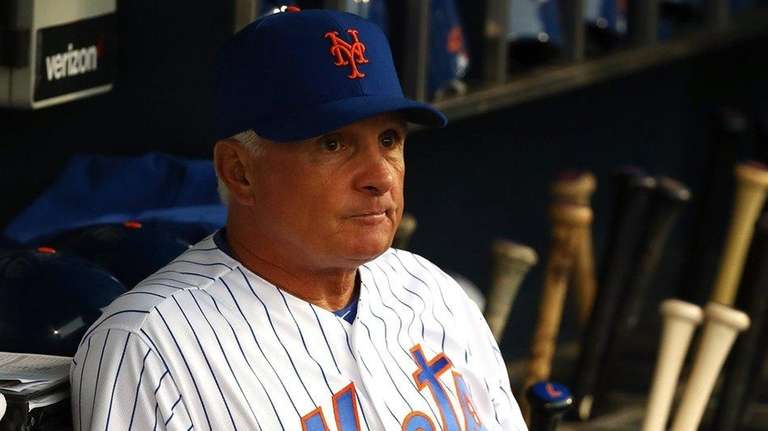 New York Mets manager Terry Collins, No. 10,