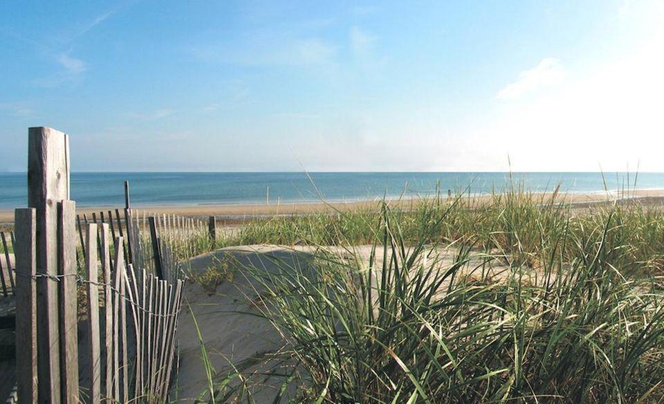 Coast Guard Beach on Cape Cod in Mass.,