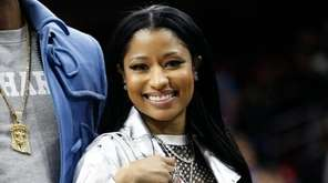 Nicki Minaj will perform during the first NBA