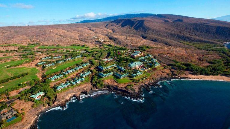 The Four Seasons Resort Lanai, Lanai, Hawaii.