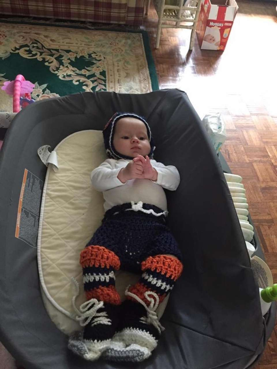 My daughter being an islanders fan