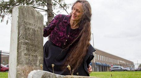 Reine Bethany, Hempstead Village's newly hired historian, is