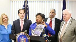 New York State Senate Democratic Leader Andrea Stewart-Cousins