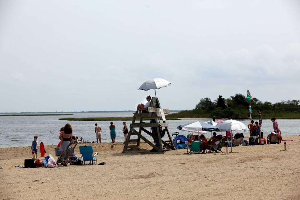 PHILIP B. HEALEY BEACH, at Florence Avenue, Massapequa,