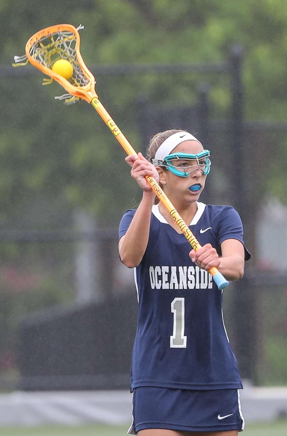 Oceanside's Christina McCabe had a strong offensive game