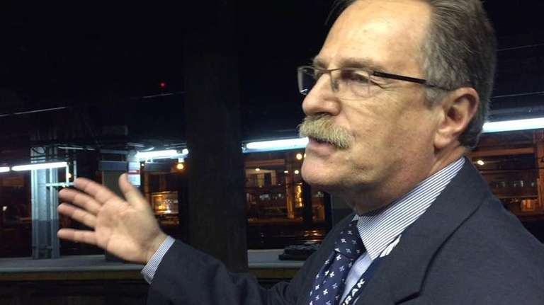 Mike DeCataldo, vice president of Operations for Amtrak's