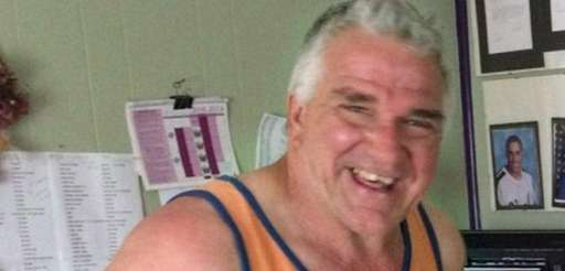 Edward Sinnott, 59, of Huntington, died while installing