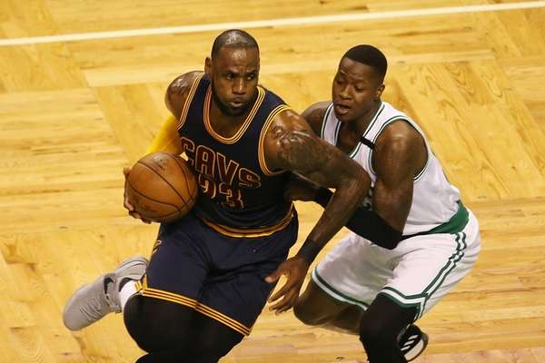 Cavaliers crush Celtics to book title clash with Warriors