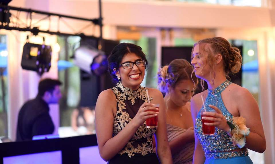 Copiague students celebrate at their prom held at