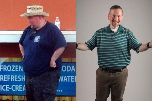 Gary Stadler, 42, Lake Ronkonkoma, is pictured in