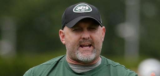 New York Jets offensive coordinator John Morton talks