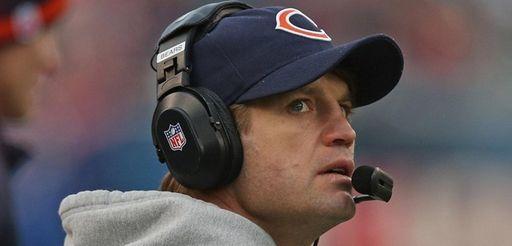 Jets quarterbacks coach Jeremy Bates, shown here as
