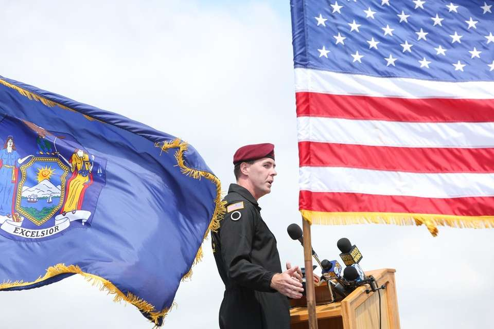 Sgt. 1st Class Brian Karst, with the U.S.