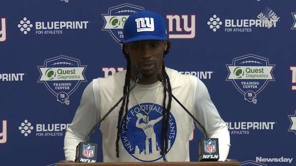 On Thursday May 25, 2017 Giants cornerback Janoris