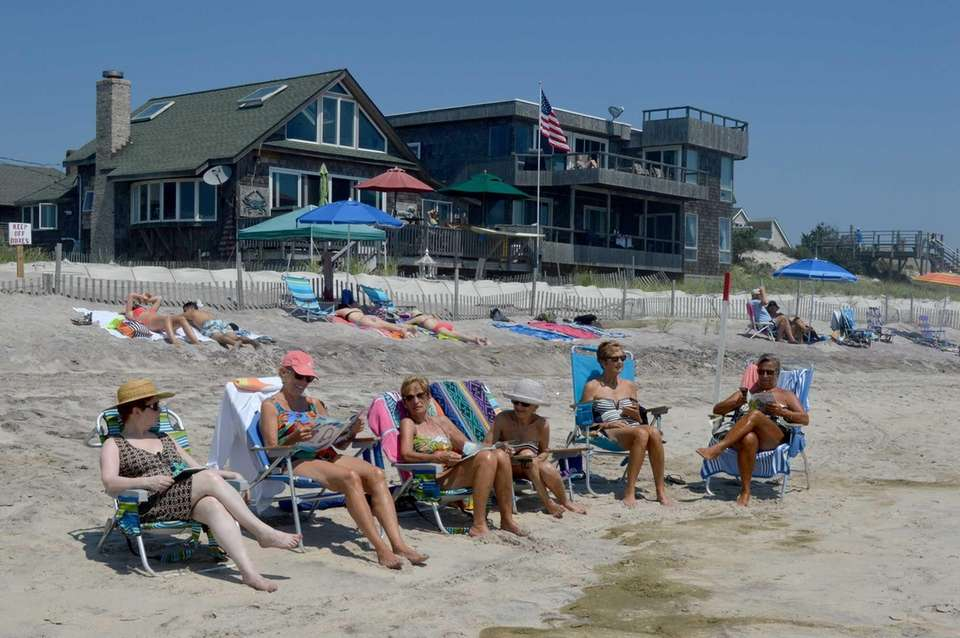 OCEAN BEACH, Fire Island, 631-583-5940. Lifeguards: May 27-June