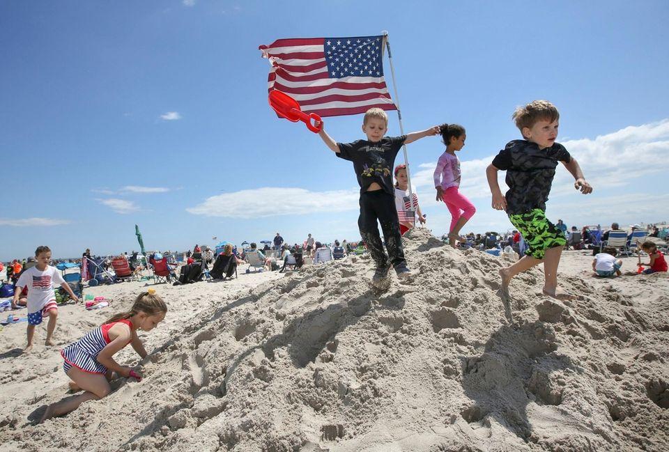 As the Memorial Day weekend gets underway, children