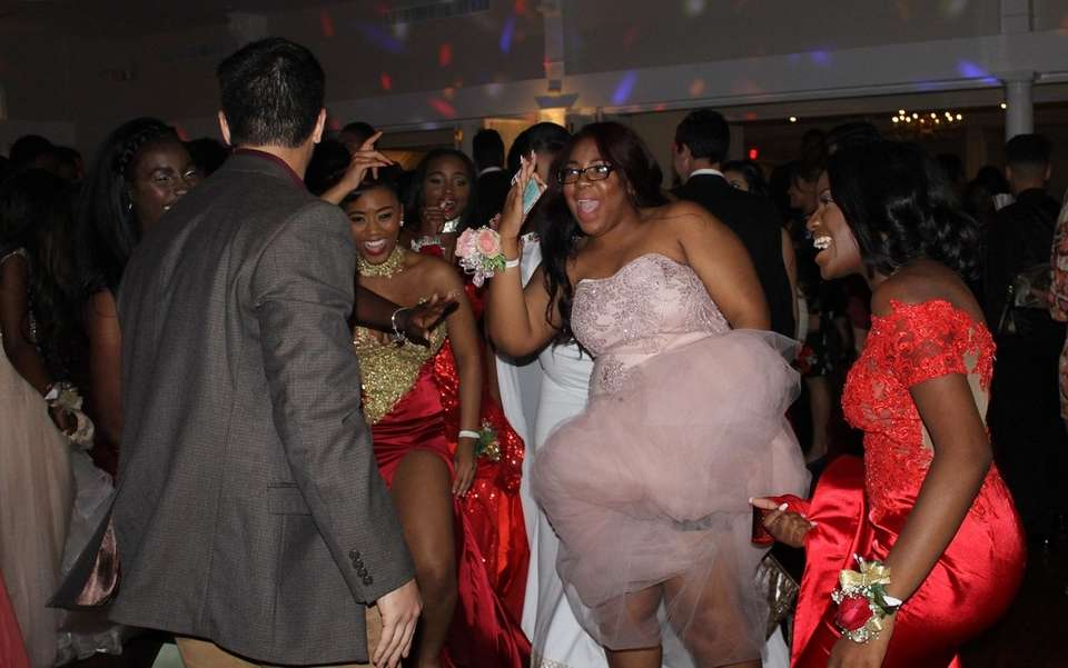 Copiague High School students bust moves during their