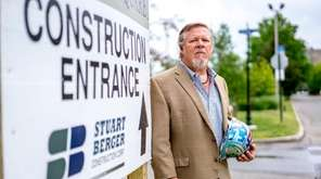 Bruce Forster, owner of Stuart Berger Construction Corp.,