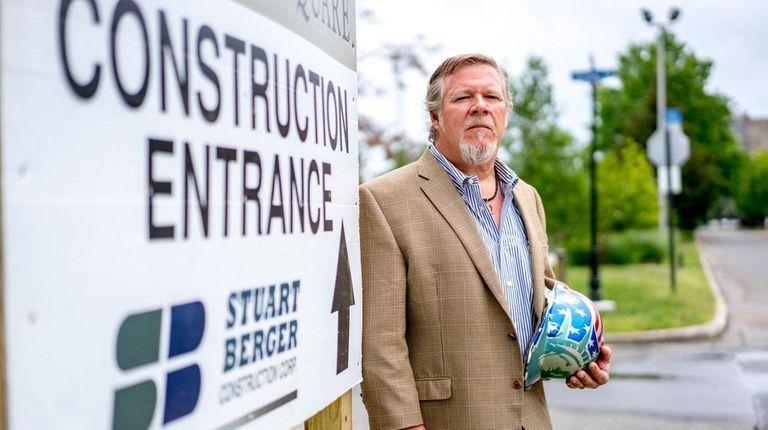 Bruce Forster, owner of Stuart Berger Construction Corp.,