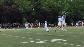 Kellenberg defeated Iona Prep, 11-9, in boys lacrosse