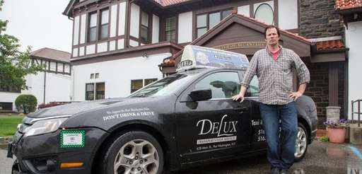 Danny Doherty, a driver for Delux Transportation Services,