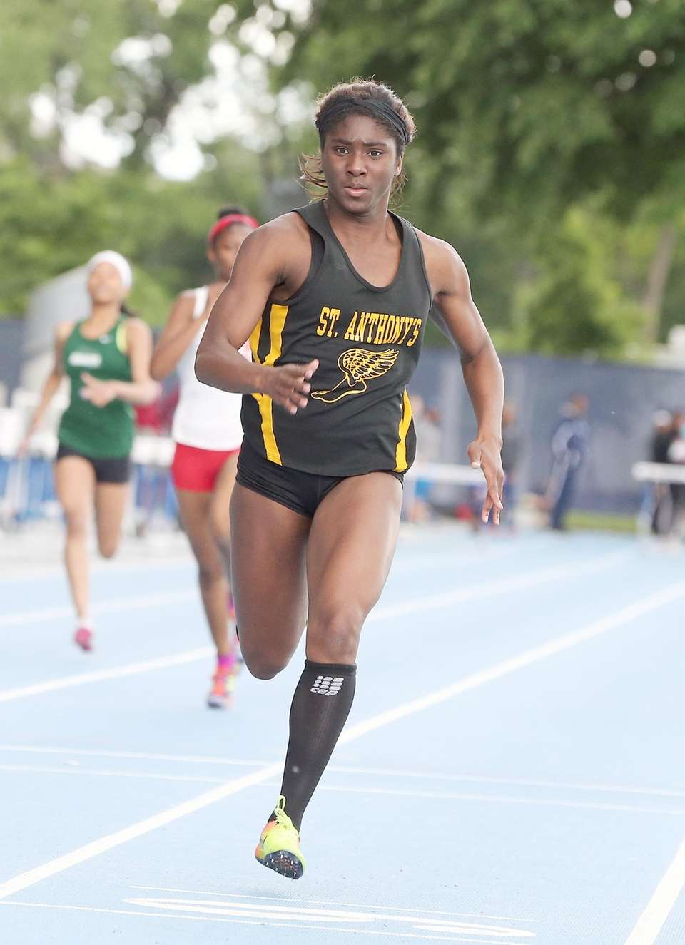 St. Anthony's Halle Hazzard takes first in the