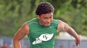 Holy Trinity's Jaden Antoine takes second in the