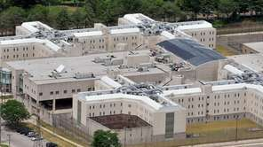 The Nassau County Jail in East Meadow.