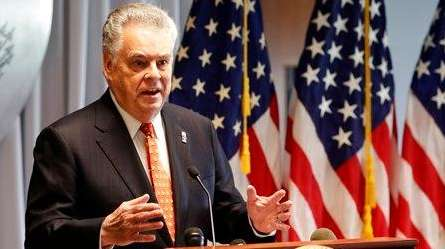 Rep. Peter King (R-N.Y.) on Friday, April 28,