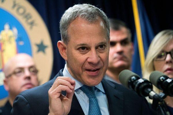 New York Attorney General Eric Schneiderman is shown.
