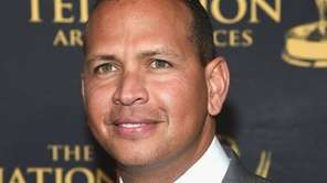 Alex Rodriguez, seen in Manhattan on May 9,