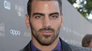 Deaf model Nyle DiMarco at the