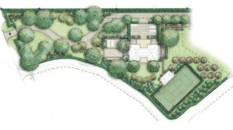 The home is proposed to be cedar shingle,