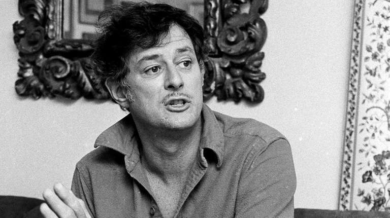 Frank Deford, shown in 1984, wrote for Sports