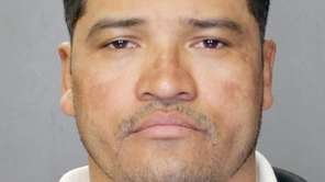Suffolk police said Eris Diaz, 41, was charged