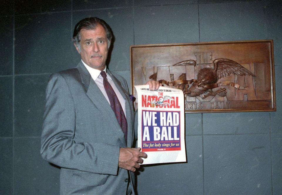 Legendary sportswriter Frank Deford passed away on Sunday,