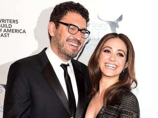 Sam Esmail and Emmy Rossum wed Sunday at
