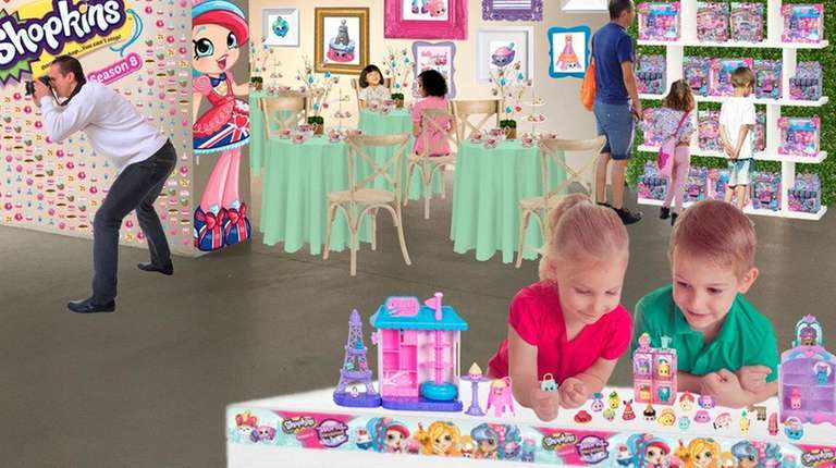 The Shopkins Macaron Café comes to TriBeCa June