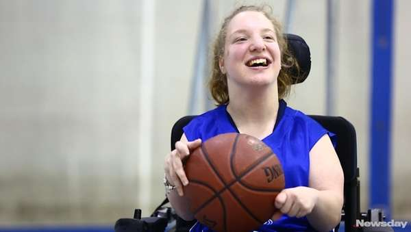 Emma Greenfield has used a wheelchair since the