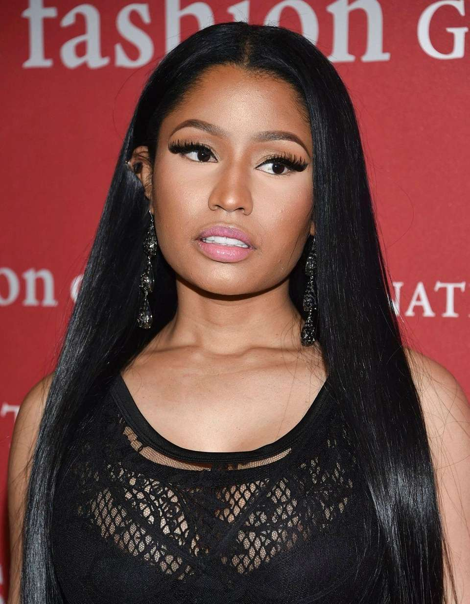 The Los Angeles home of rapper Nicki Minaj