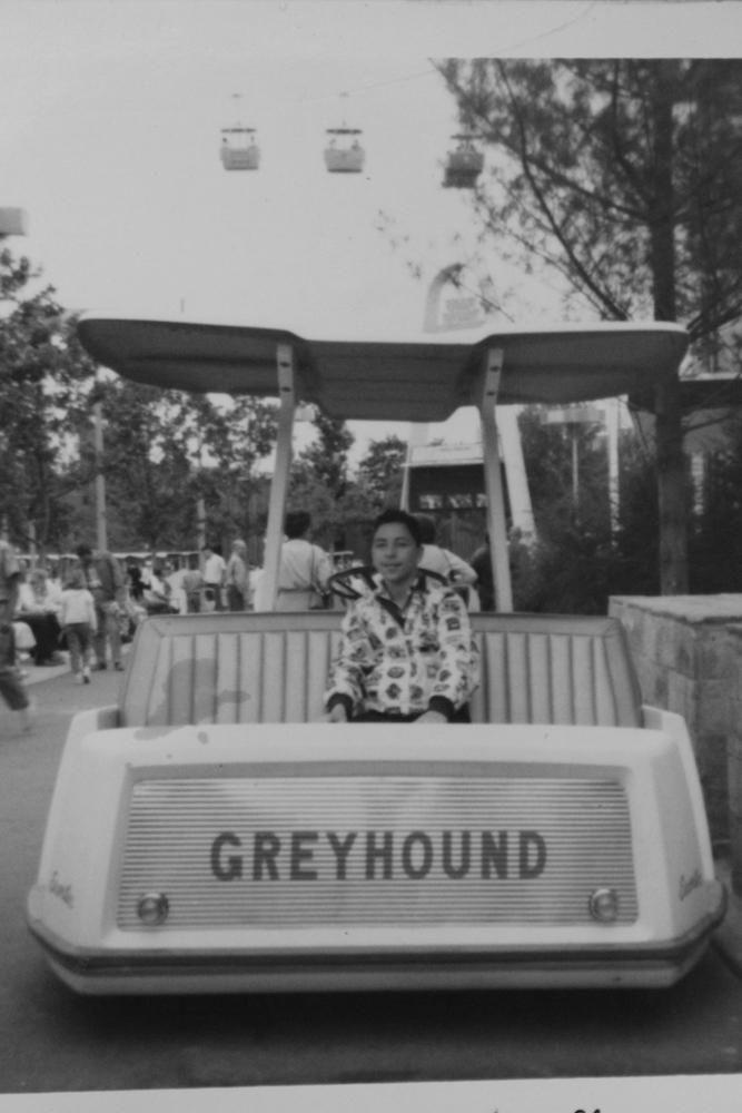 Richard Tellerman at '64 Fair